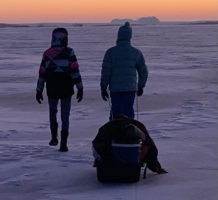 Mobile Ice Fishing