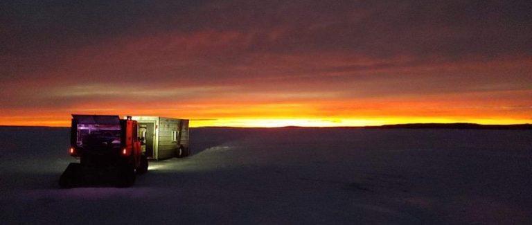 Devils Lake Ice Fishing